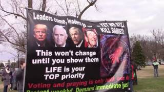 March for Life 2017:  Telling pro-life people to do more than just march