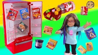 Oh So Real Mini Food Packs Shopkins Surprise Blind Bags with American Girl