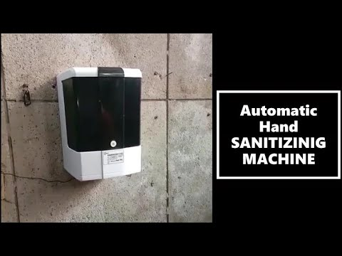 DMT Wall Mounted Automatic Hand Sanitizing Machine