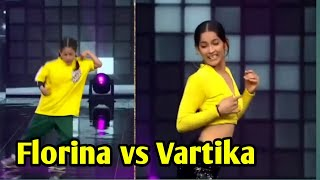 Florina tushar vartika battle in super dancer chapter 4 #superdancerchapter4 #superdancer4 #florina