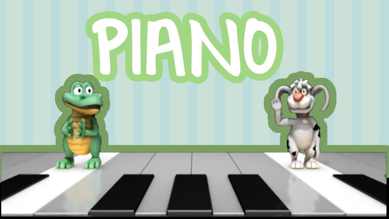 JACA E VIRA BRINCANDO NO PIANO | BEBÊ MAIS CANTIGAS