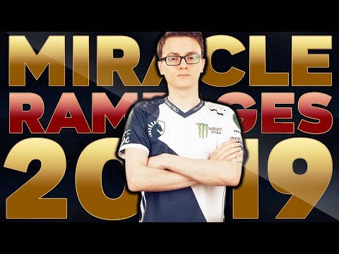 Miracle- EPIC Rampage Highlights Compilation 2019 - Dota 2