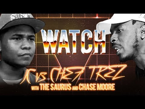 WATCH: JC vs CHEF TREZ with THE SAURUS and CHASE MOORE