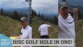 Incredible Disc Golf Hole In One | Top 25 of 2017