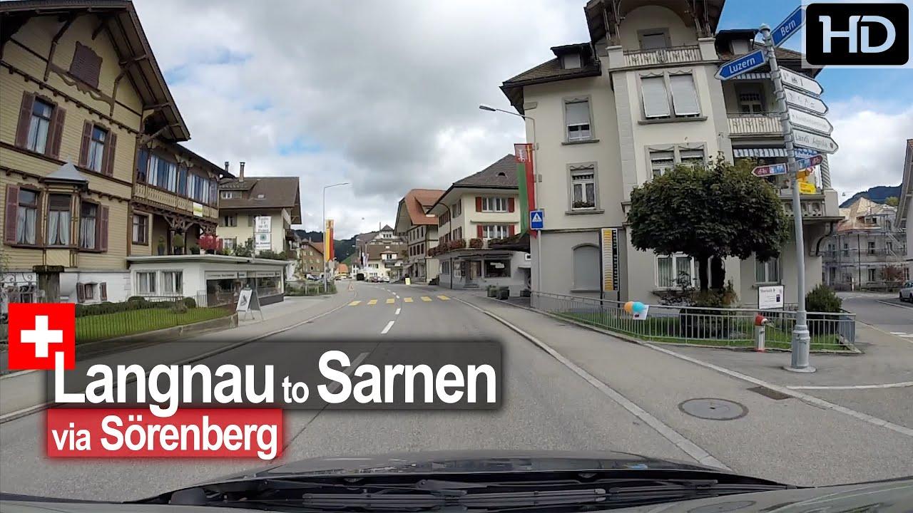 Langnau to Sarnen – Scenic Drive Switzerland!