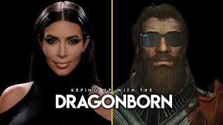 I recreated the Keeping up with the Kardashians Promo in Skyrim