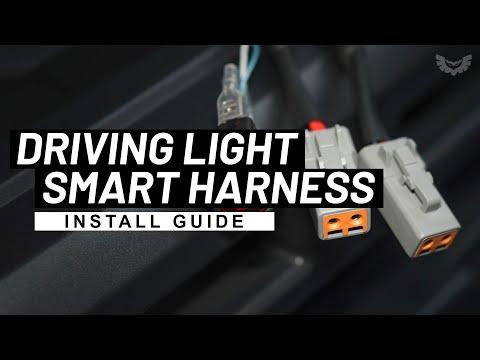 STEDI Dual Connector Plug & Play Smart Harness™ | High Beam & Driving Light Wiring