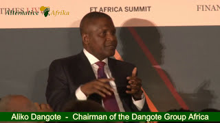 Aliko Dangote    A Leader's View At The FT Africa Summit 2017