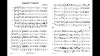 This Is Halloween by Danny Elfman/arr. James Kazik