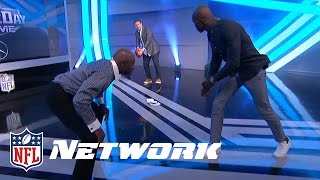 Chad Johnson & Deion Sanders Talk Celebrations, Best WRs, and Who Would Win 1-on-1 | NFL Network