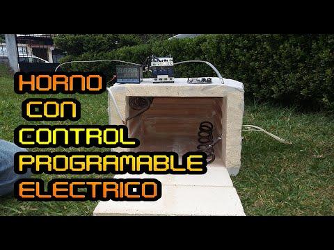 Como Hacer un Horno Eléctrico  Con Control Programable  #Somos_Mecatronicos