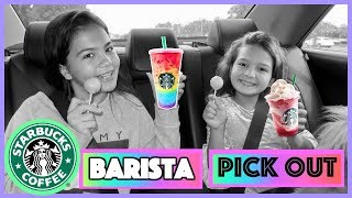 LETTING STARBUCKS BARISTA PICK OUT DRINKS FOR A WEEK WENT WRONG | SISTER FOREVER