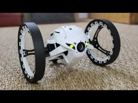 TEST : Parrot MiniDrone Jumping Sumo