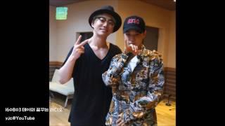 Gambar cover [繁中字幕] 160803 Tei 的夢想電台 (테이의 꿈꾸는 라디오) - Hot 音樂人 with Dean (딘)