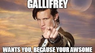 Doctor Who Memes (vol.1)