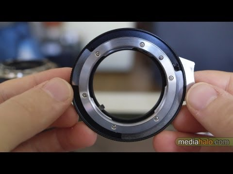 $17 Nikon lens to Canon body adapter with Aperture Control
