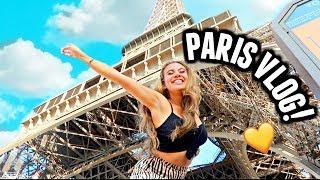 PARIS VLOG! Visiting the Eiffel Tower, The Louvre and Disneyland Paris!