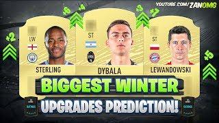 FIFA 20 | BIGGEST WINTER UPGRADES PREDICTION! 😱🔥 | FT. DYBALA, STERLING, LEWANDOWSKI..
