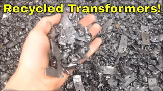 Clean Copper Wire From Production Transformer Recycling