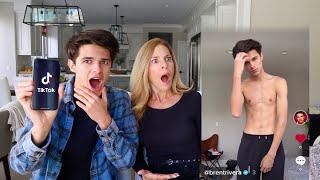 MOM REACTS TO MY TIK TOKS!? (exposed!)