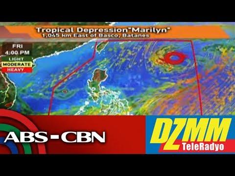 [ABS-CBN]  Bagyong #MarilynPH, bumagal; hindi inaasahang magla-landfall sa bansa   DZMM