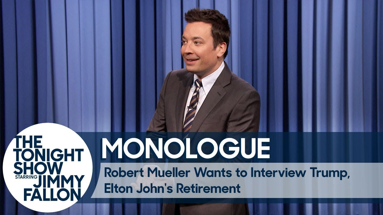 Robert Mueller Wants to Interview Trump, Elton John's Retirement - Monologue thumbnail