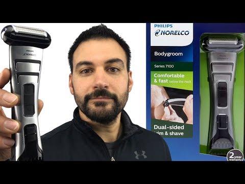 Shaving Chest Hair - Philips Norelco Bodygroom 7100 – Model BG2040