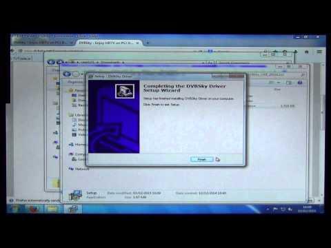 How to Install DVB Sky USB DVB-T2 Tuner on PC