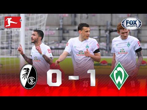 GOL 'BRASILEIRO' E FINAL EMOCIONANTE! Melhores Momentos de Freiburg X Werder Bremen pela Bundesliga
