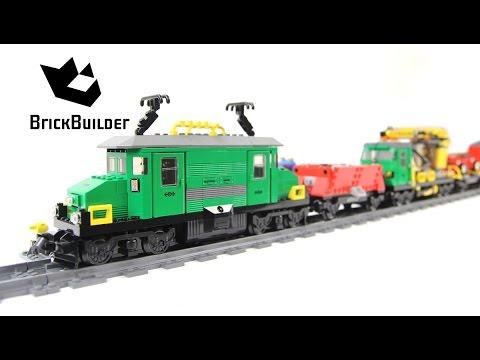 Vidéo LEGO City 7898 : Le train de marchandises de luxe