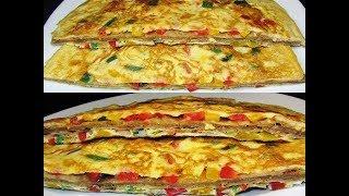 Jinsi Ya Kupika Chapati Mayai Za Kusukuma Zenye Ladha Nzuri (Chapati Omelette)
