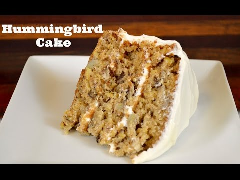 Ultimate Hummingbird Cake Recipe  How to Make a Hummingbird Cake  Cooking With Carolyn