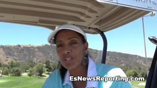 Miss Parker from Movie FRIDAY talks to EsNews