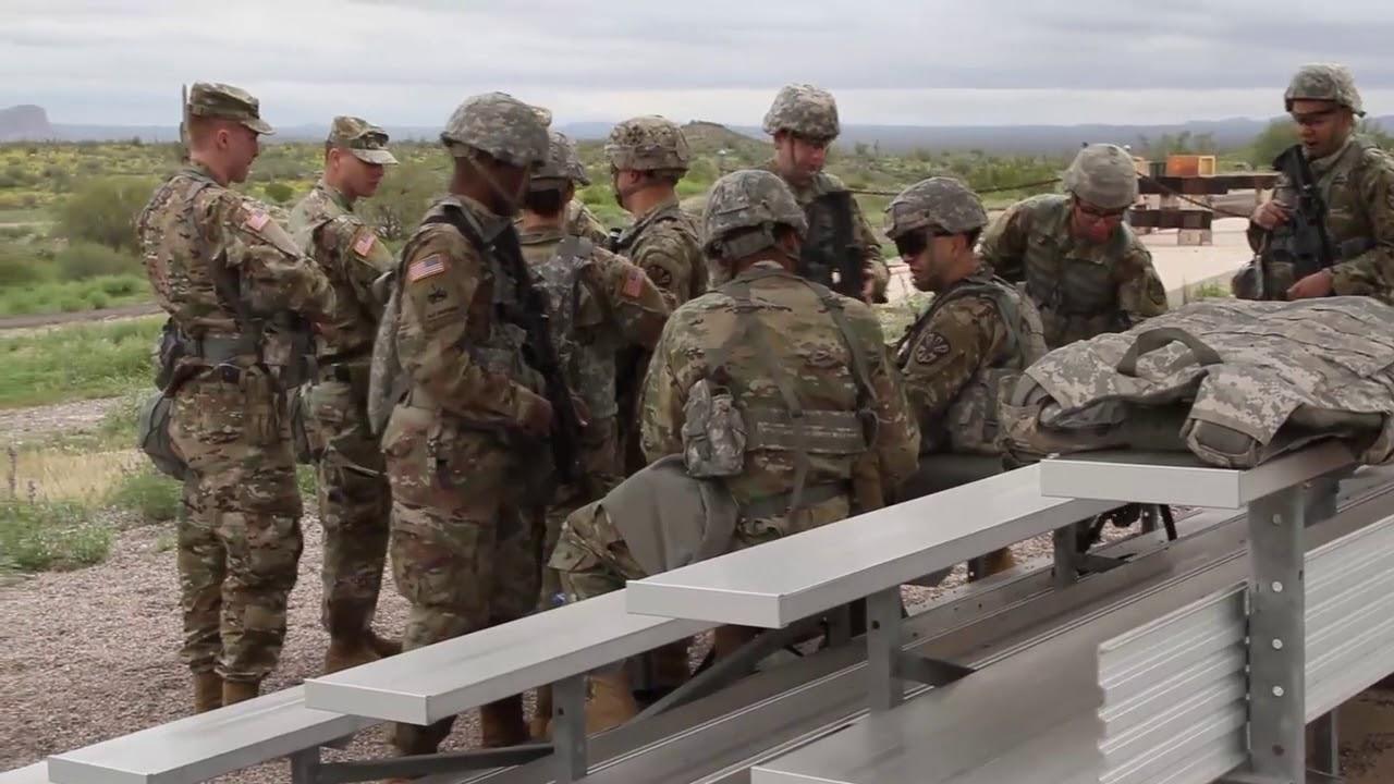 1-60th Financing Detachment Warrior Training FLORENCE, AZ, UNITED STATES 03.08.2019