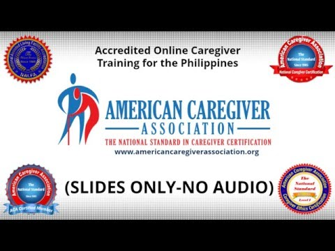 Online Caregiver Training In The Philippines - YouTube