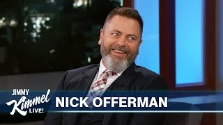 Nick Offerman Thinks Megan Mullally Looks Like Cher After Sex