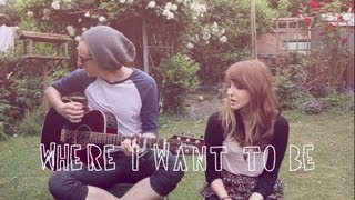 The Dangerous Summer - Where I Want To Be (cover)  | Anavae