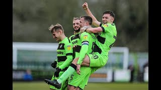 HIGHLIGHTS | Forest Green Rovers 3 Yeovil Town 0