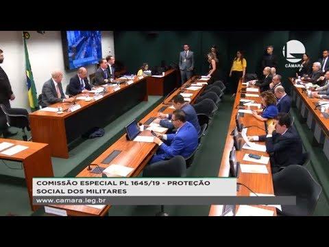 Proteção Social dos Militares - PL 1645/19 - Previdência dos Militares - 17/09/2019 - 16:22