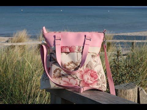 DIY Handtasche Frühlingsliebe von Unikati nähen