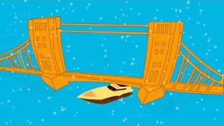 London Bridge Is Falling Down Song | HooplaKidz Nursery Rhymes & Kids Songs