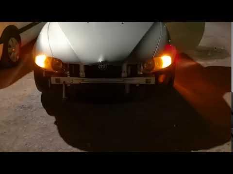 Alfa Romeo 147 indicators in headlight conversion