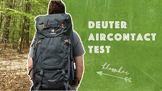 Deuter Aircontact Test | Wie gut ist der Trekkingrucksack-Klassiker? (Packwild Review)