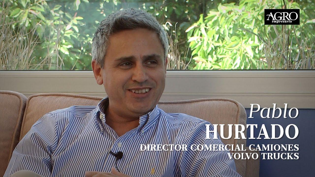 Pablo Hurtado - Director Comercial Camiones de Volvo Trucks