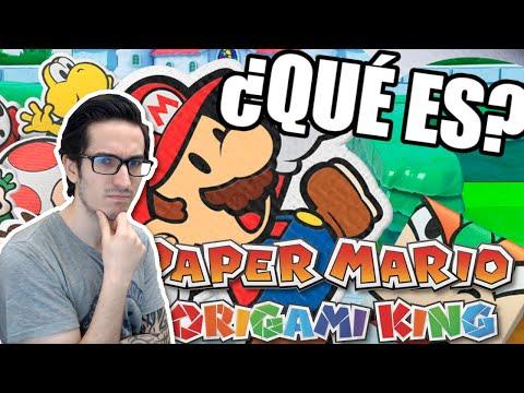 ¿Qué es el nuevo Paper Mario: The Origami King? - Leyendas & Videojuegos