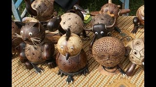 Business Coconut Shell Craft