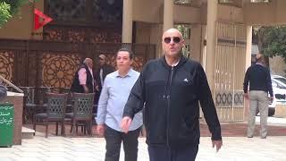 المعلم وحازم إمام وأبو رجيله يشيعون جنازة أحمد رفعت