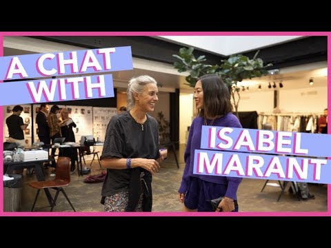 #PFW: A Chat with Isabel Marant | Aimee Song