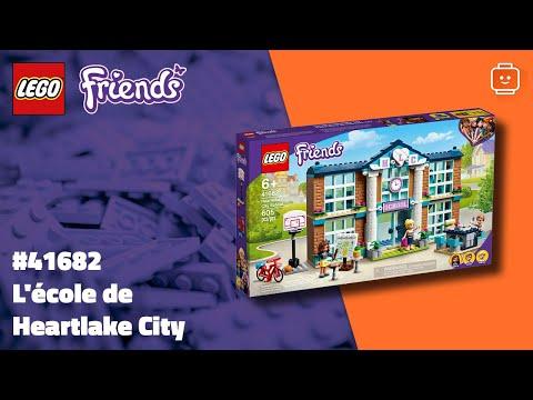 Vidéo LEGO Friends 41682 : L'école de Heartlake City