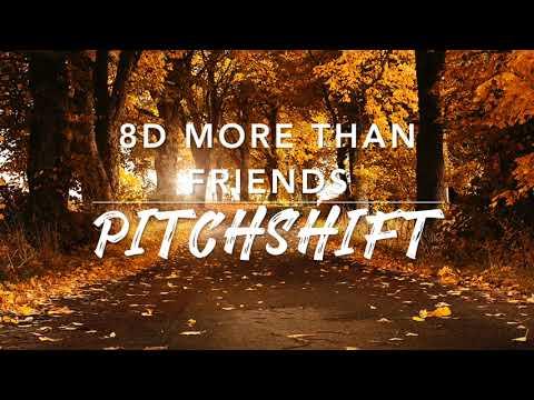 8D More Than Friends — Jason Mraz ft  Meghan Trainor   PitchShift